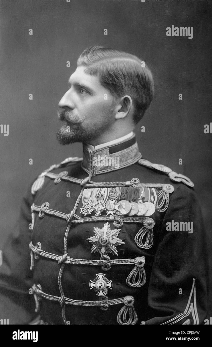 Crown Prince Ferdinand of Romania - Stock Image