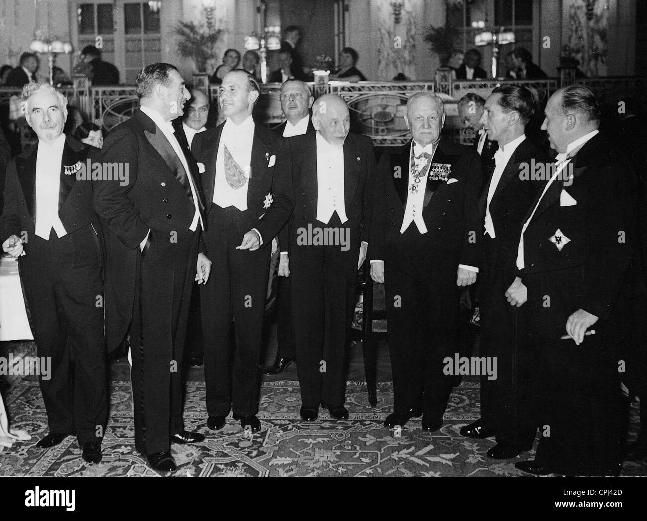 The 9th International Composers and Authors Conference in Berlin, 1936 - Stock Image
