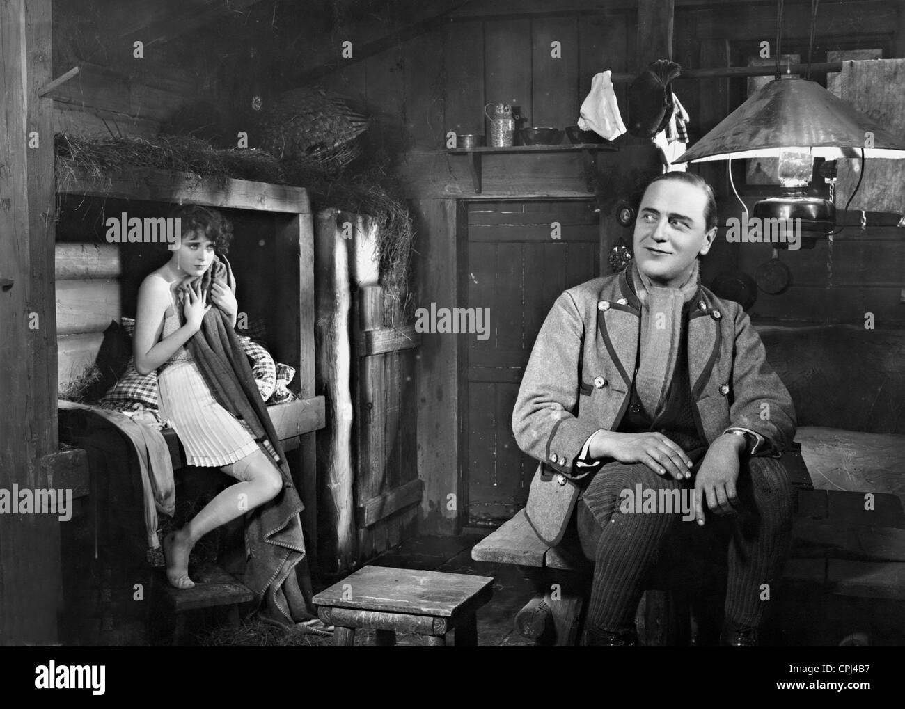 Harry Liedtke in 'Amor auf Ski', 1928 - Stock Image