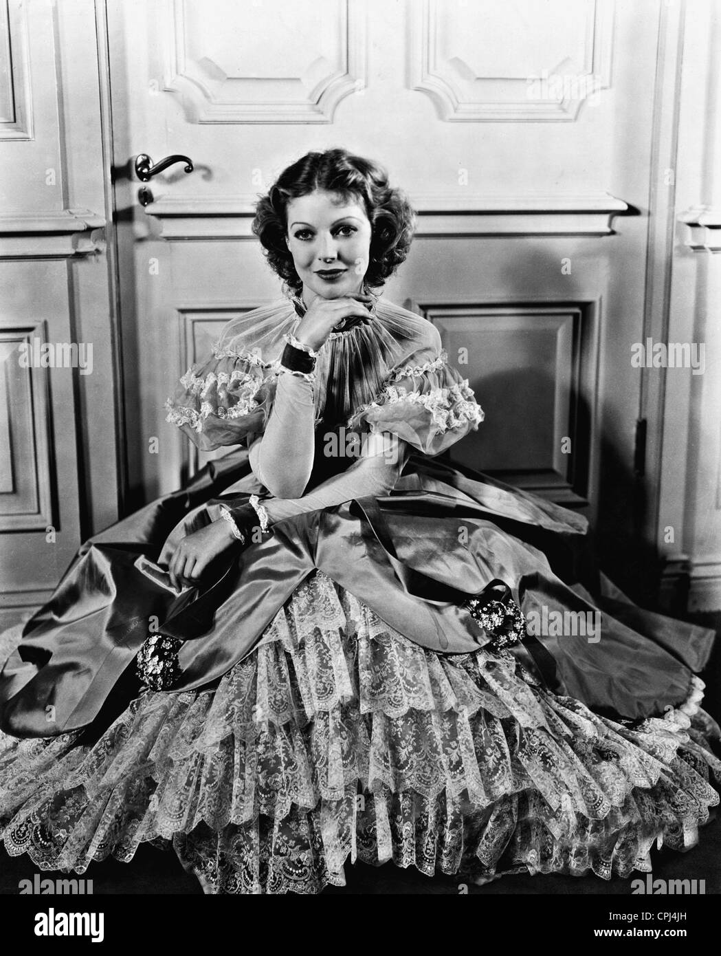Loretta Young in 'Man's Castle', 1933 - Stock Image