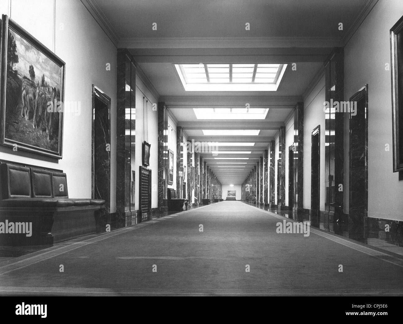 The interior view of the reich chancellery stock photo for Images of interior