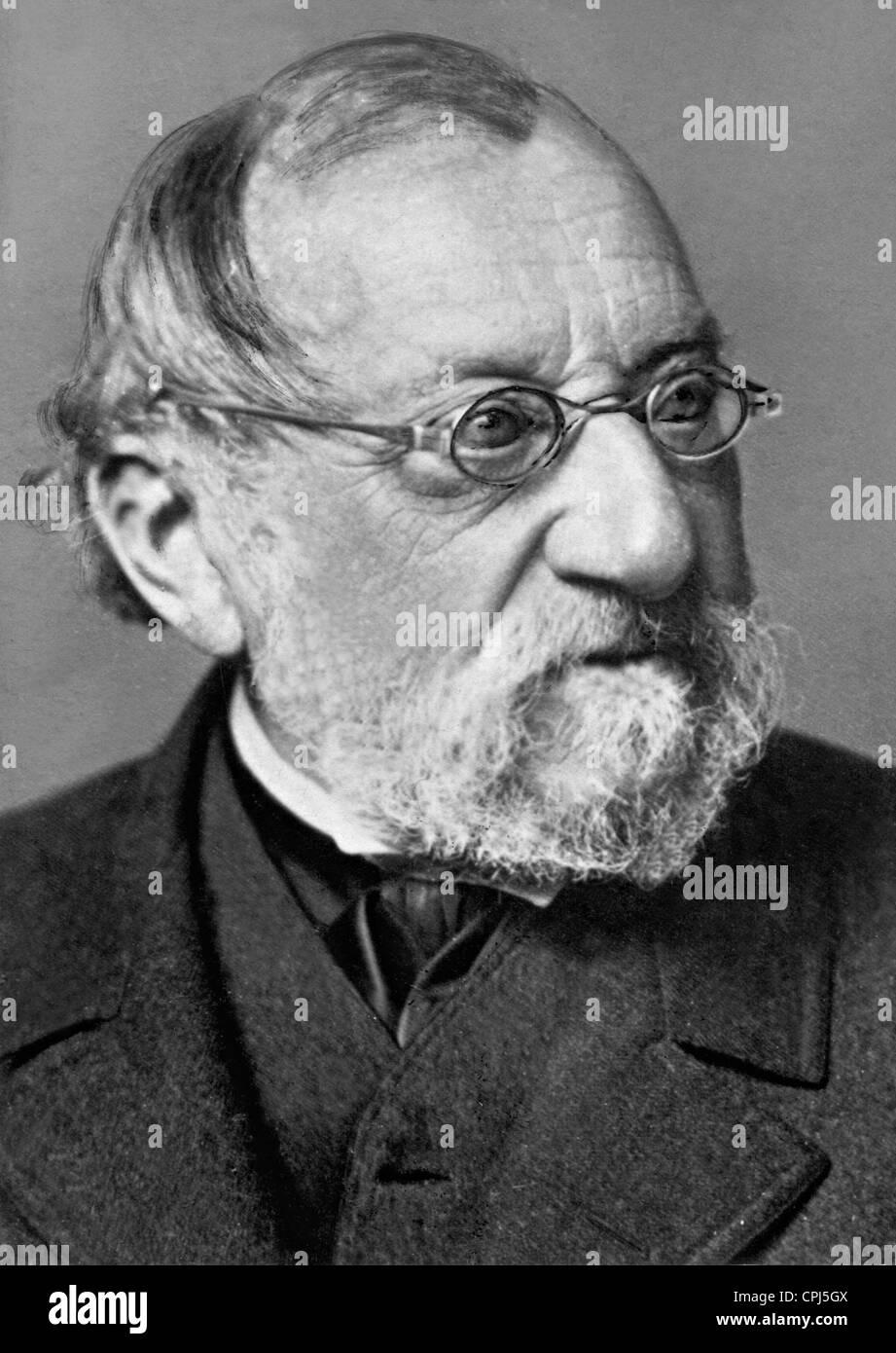 German painter Carl Spitzweg (1808-1885). - Stock Image