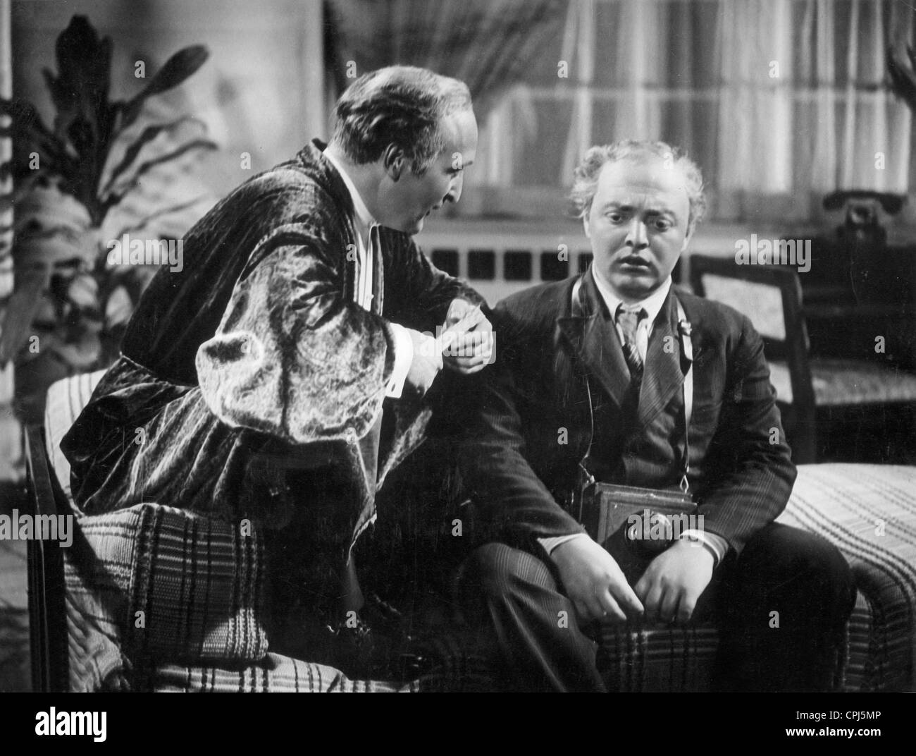 Hans Albers and Peter Lorre in 'F.P.1 Doesn't Answer', 1932 - Stock Image