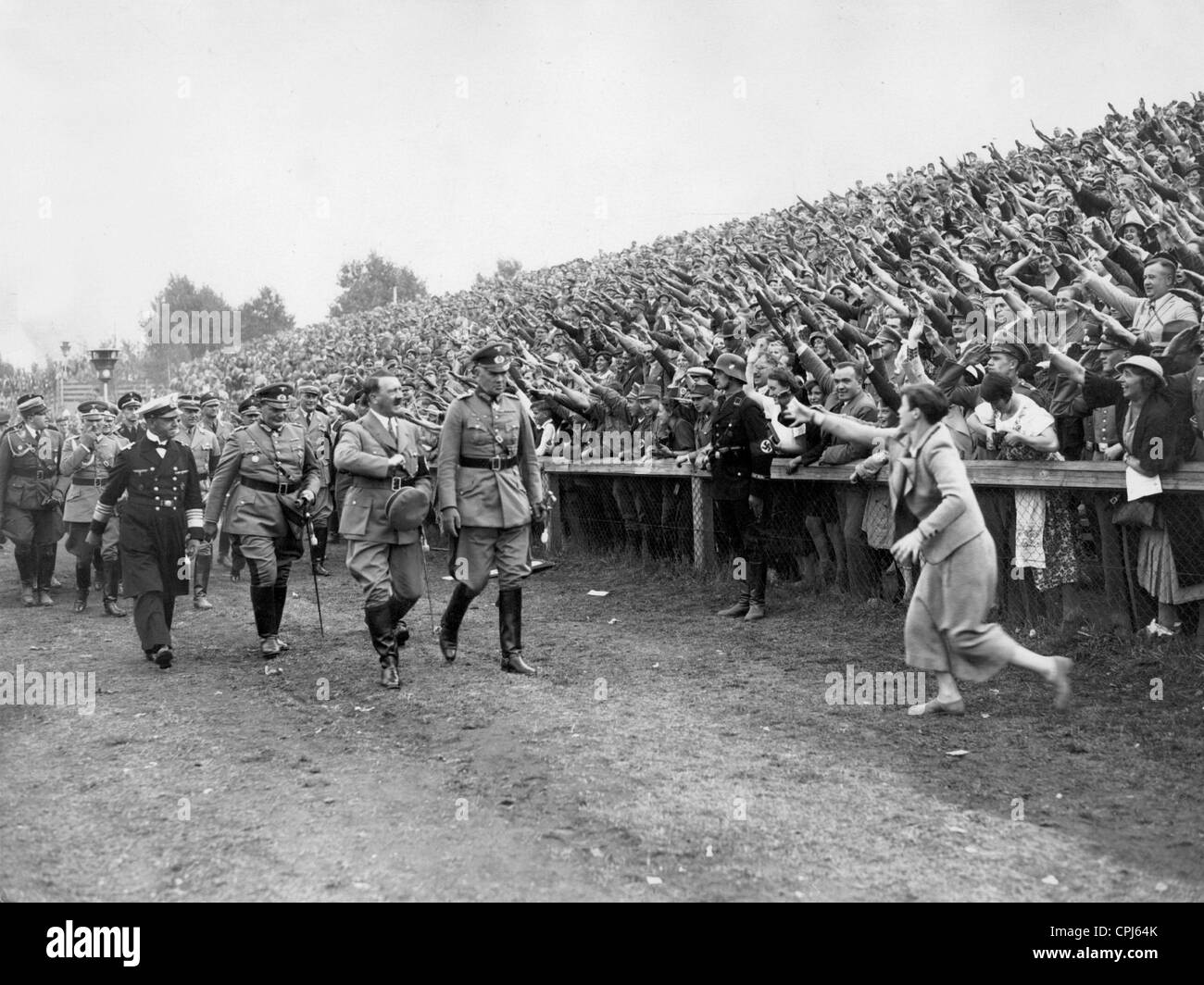 Image result for hitler rally photo