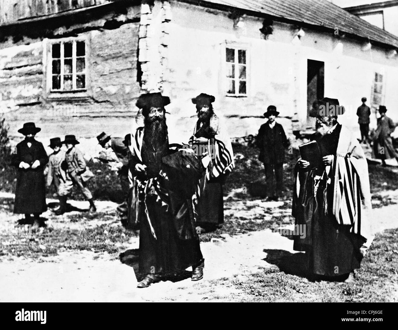 Jewish school in Poland, 1914 - Stock Image