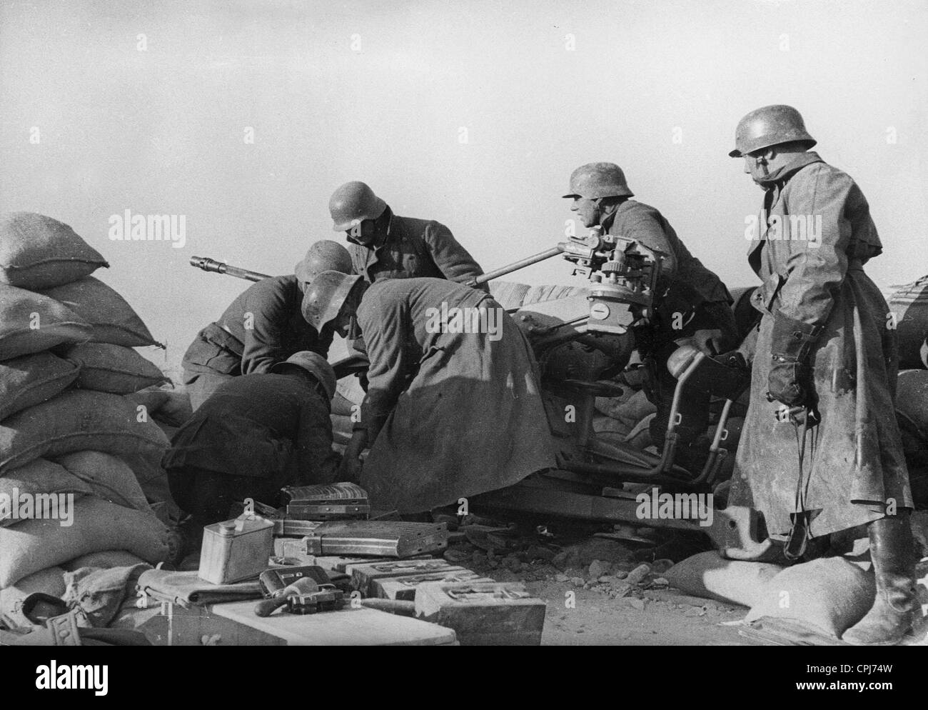 German soldiers in the Spanish Civil War, 1939 - Stock Image