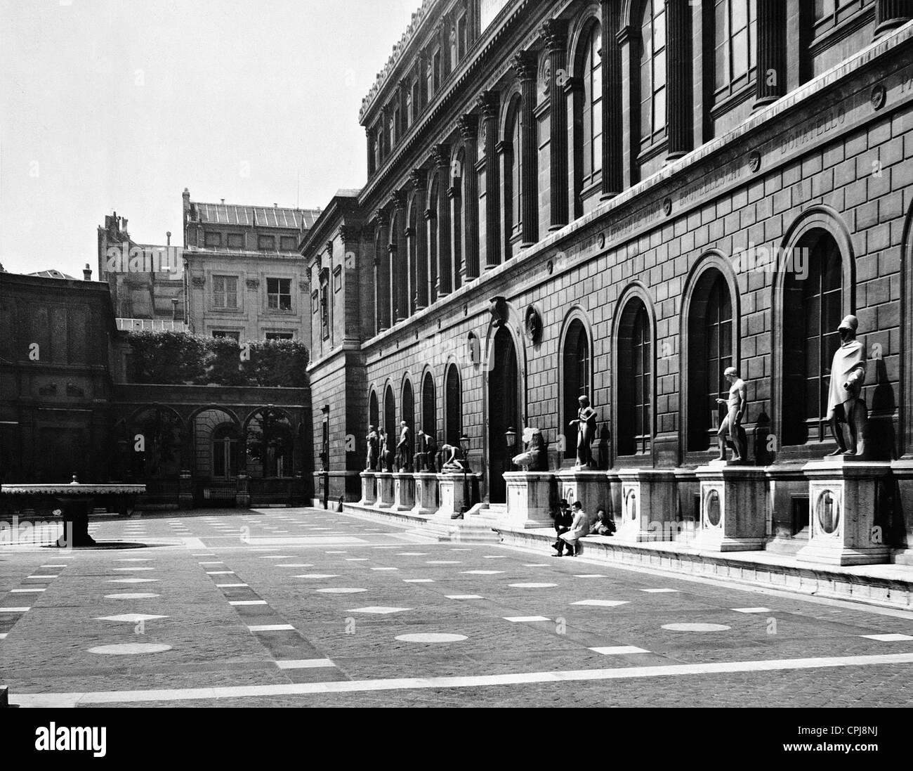Ã?cole Nationale des Beaux-Arts in Paris, 1936 - Stock Image