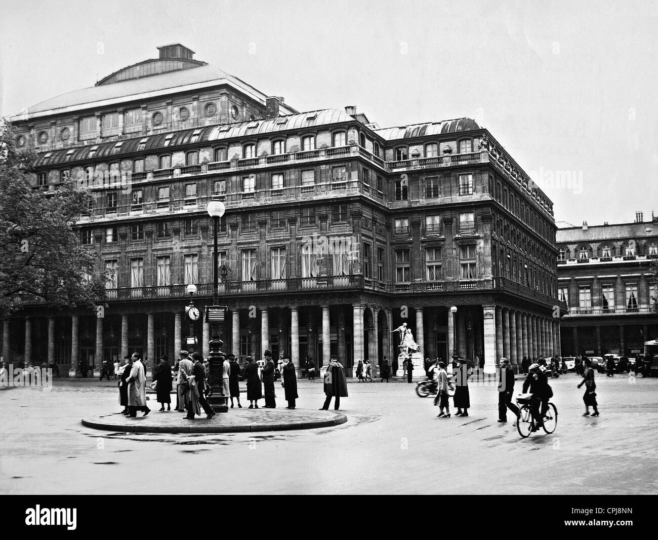 Comedie Francaise in Paris, 1938 - Stock Image