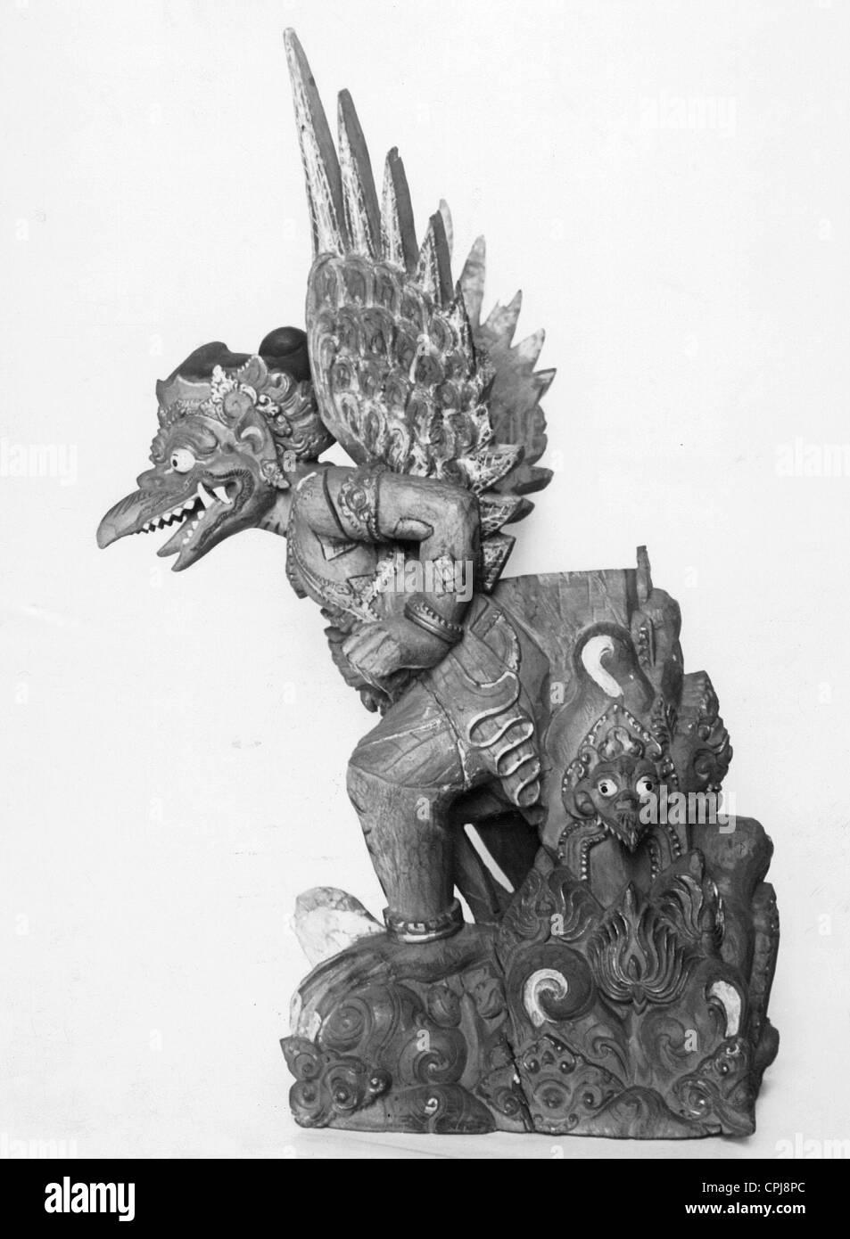 Gods bird Garuda - Stock Image