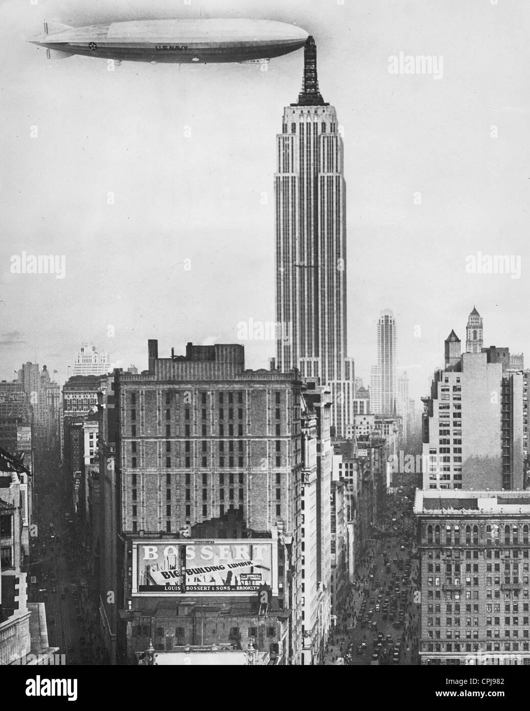 Empire State Building Paper Plane