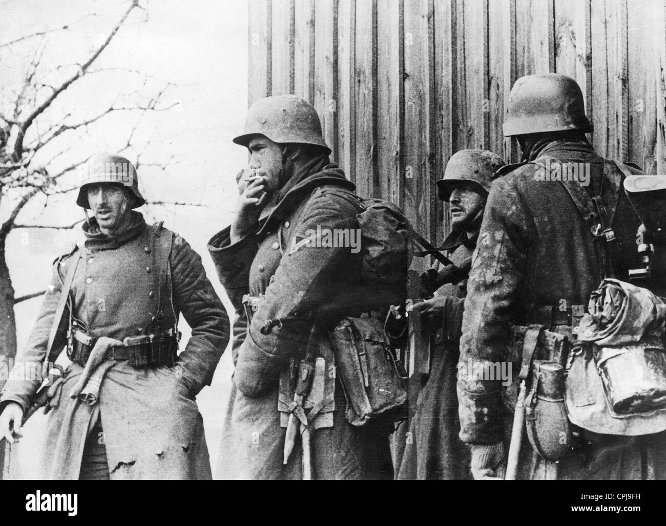 German soldiers in East Prussia, 1945 Stock Photo: 48345797 - Alamy