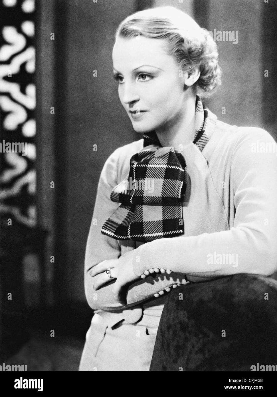 Brigitte Helm in 'Gold', 1934 - Stock Image
