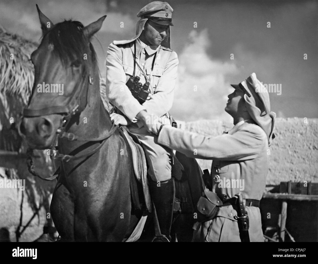 Joachim Gottschalk and Hans Nielsen 'Tumult in Damascus', 1939 - Stock Image