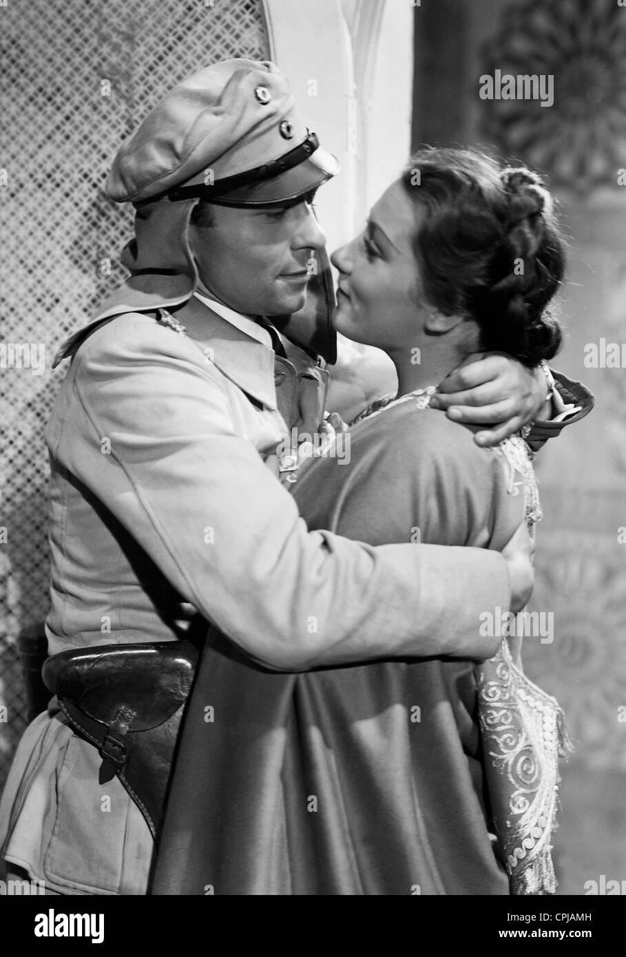 Joachim Gottschalk and Brigitte Horney 'Tumult in Damascus', 1939 - Stock Image