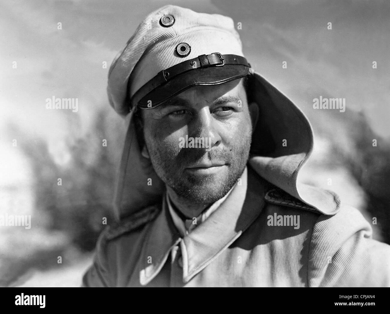 Joachim Gottschalk in 'Tumult in Damascus', 1939 - Stock Image