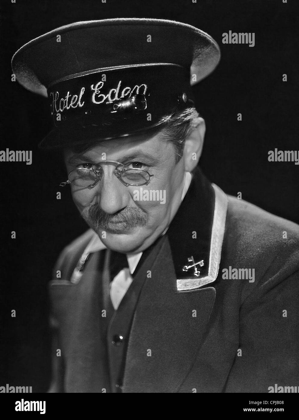Paul Hoerbiger in 'Kitty and the World Conference', 1939 - Stock Image