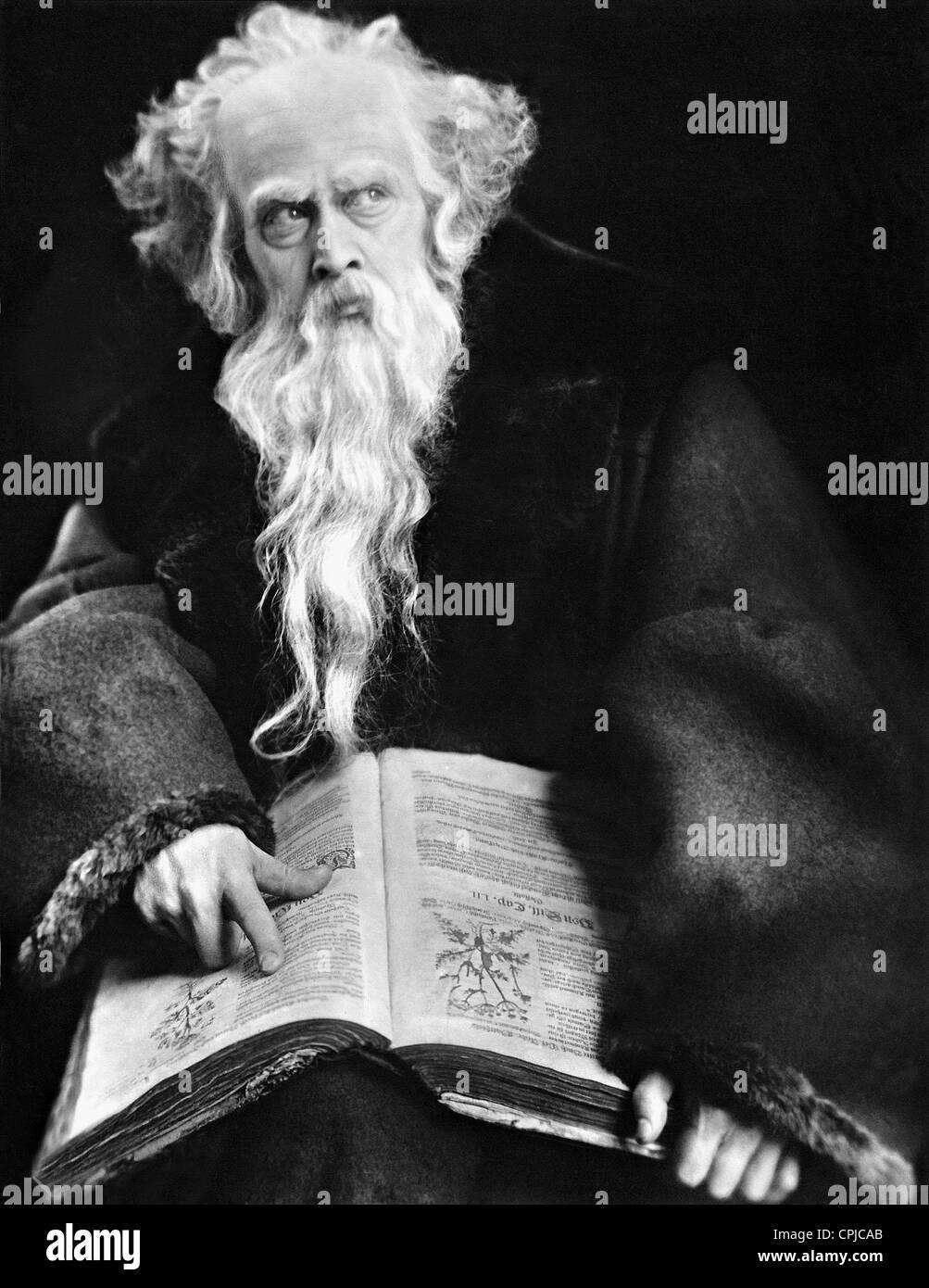Goesta Ekman in 'Faust', 1926 - Stock Image