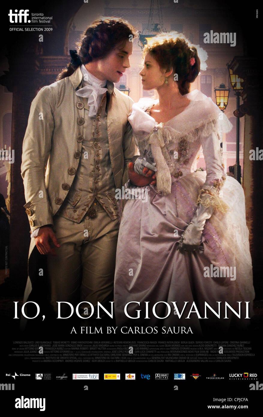 Io, Don Giovanni - Stock Image