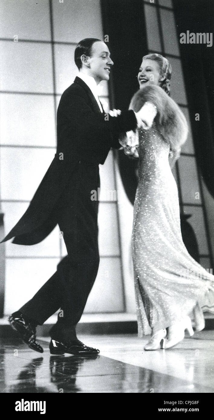 Follow The Fleet 1936 Rko Film Musical With Ginger Rogers And Fred Stock Photo Alamy