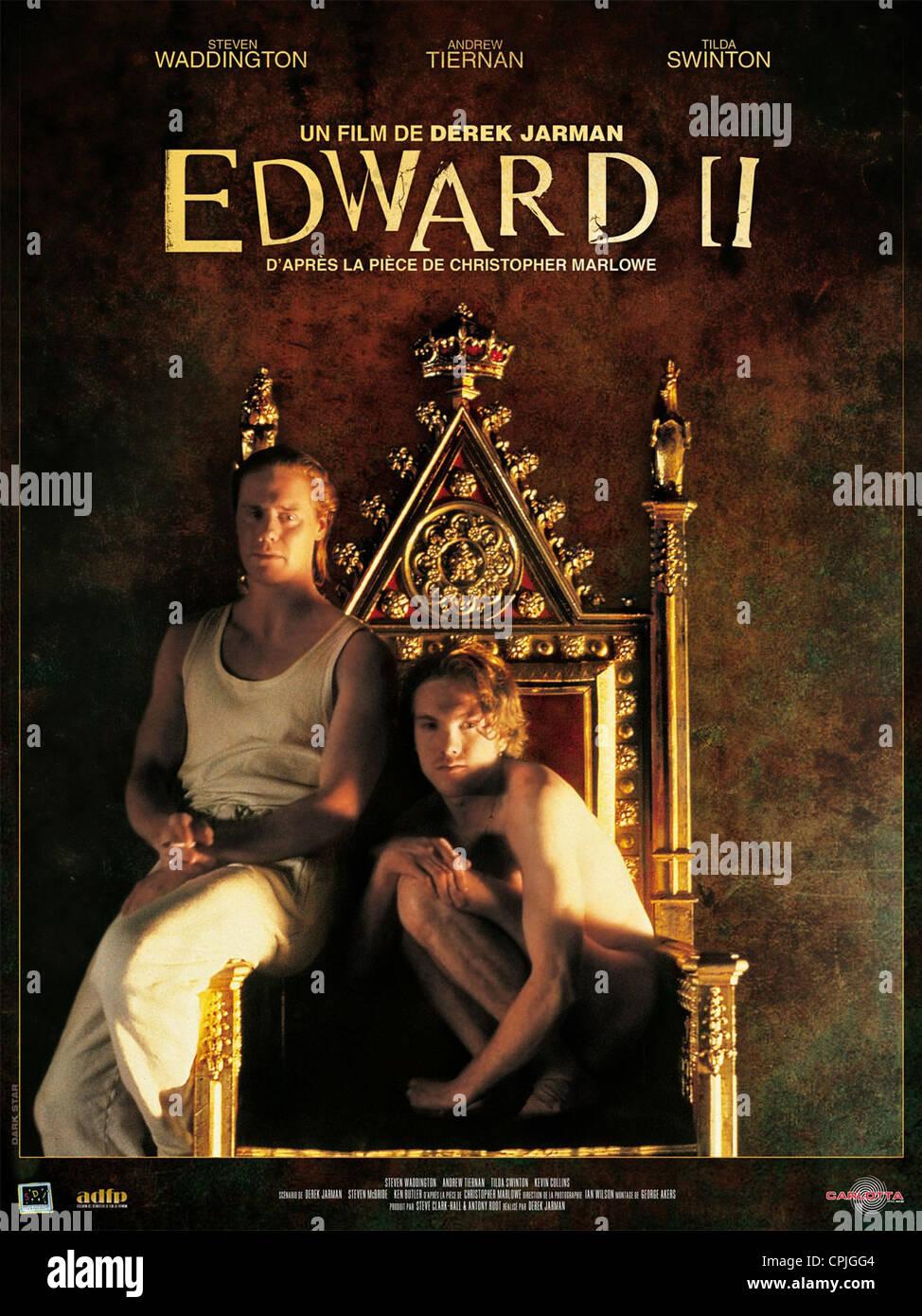 Edward II - Stock Image