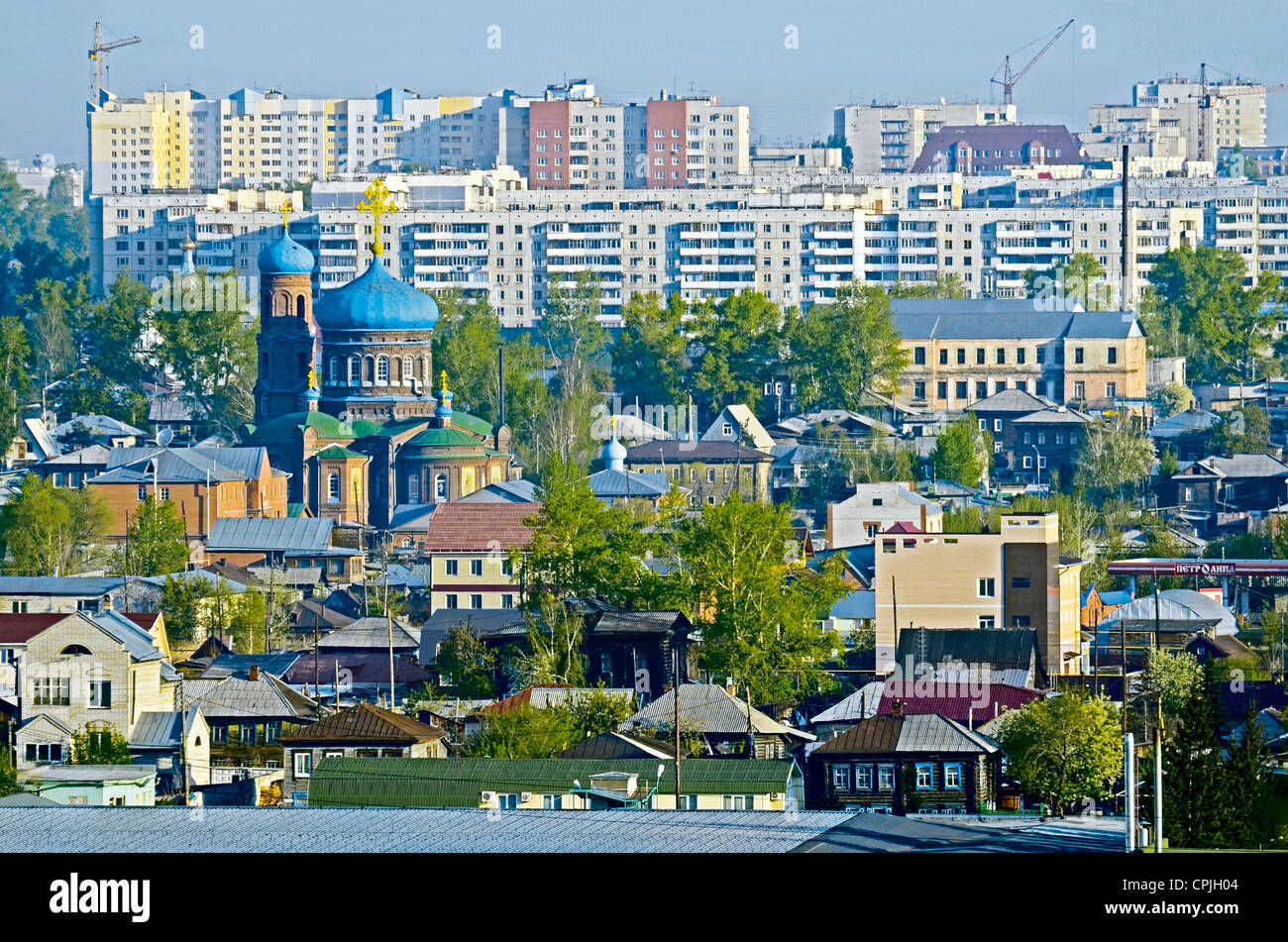 Where is Barnaul, in what area 99