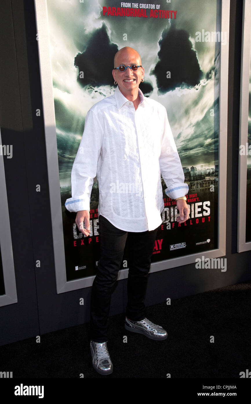 David Kracor arrives at the Special Fan Screening of Chernobyl Diaries at the Cinerama Dome in Hollywood. - Stock Image