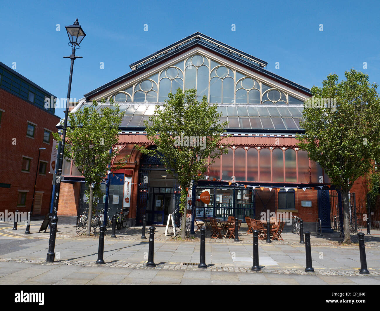 Manchester Craft & Design Centre, Manchester UK - Stock Image