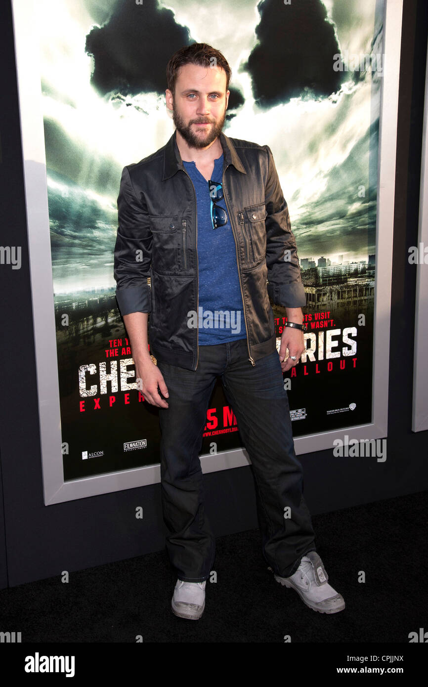 Alex Feldman arrives at the Special Fan Screening of Chernobyl Diaries at the Cinerama Dome in Hollywood. - Stock Image