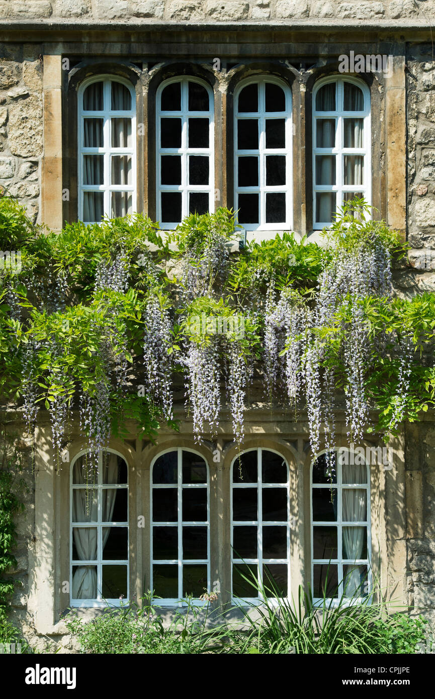 Jesus College Oxford University, Principals Lodgings. Oxfordshire England Stock Photo