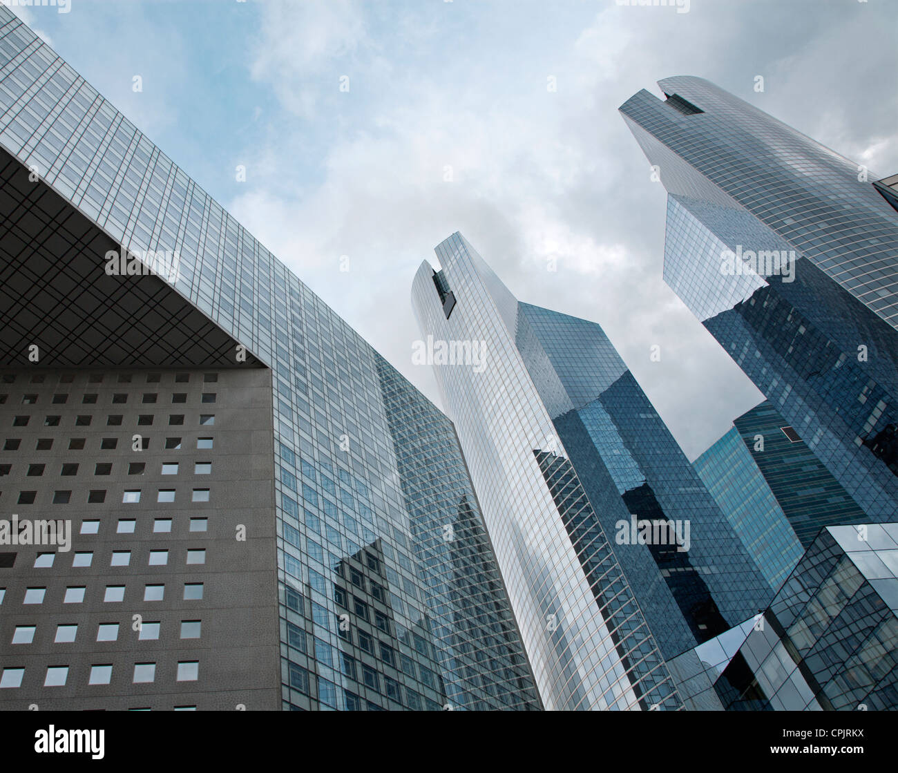 Paris - skyscrapers from Defense - Stock Image