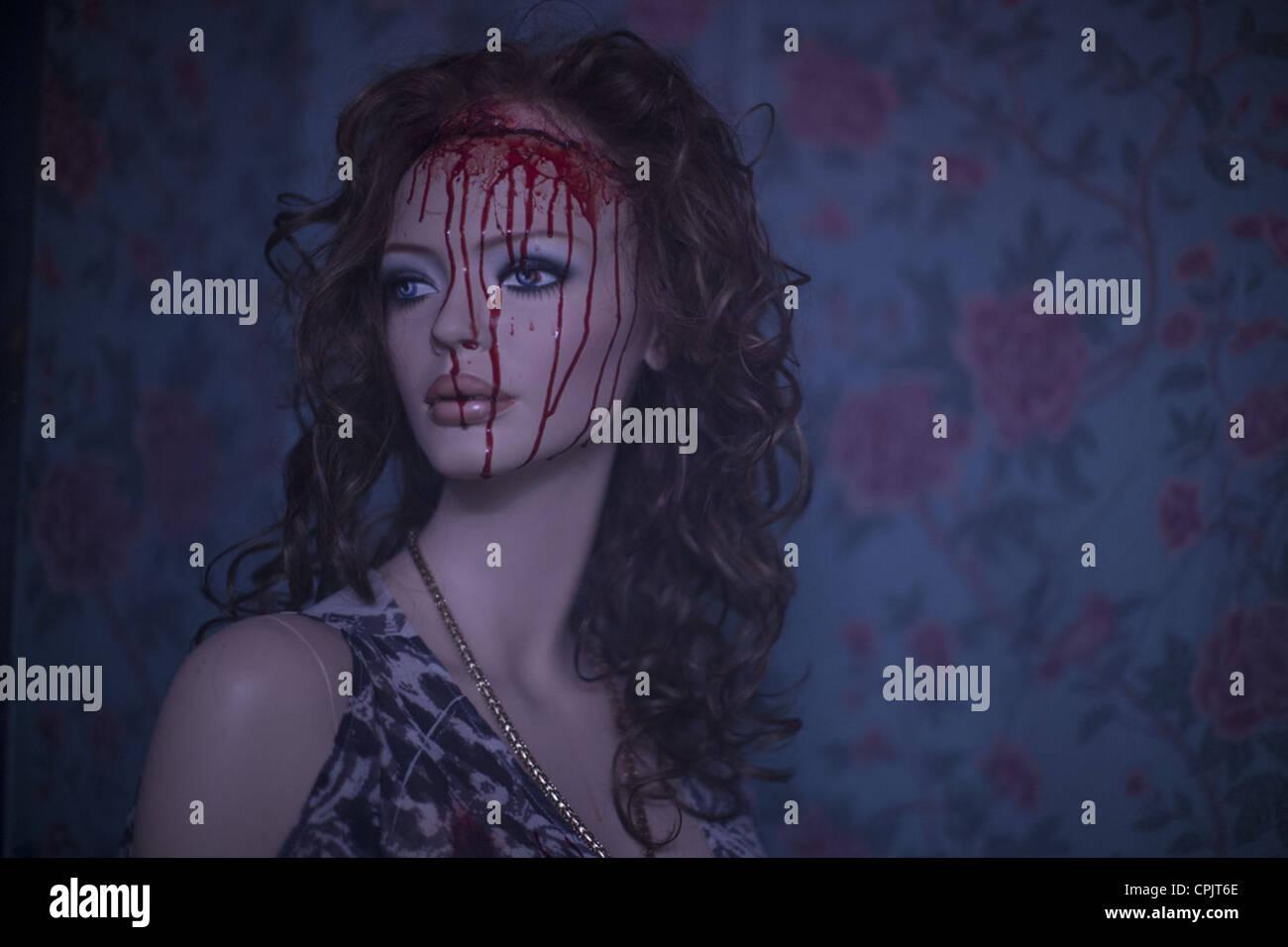MANIAC (2012) FRANCK KHALFOUN (DIR) 002 MOVIESTORE COLLECTION LTD - Stock Image