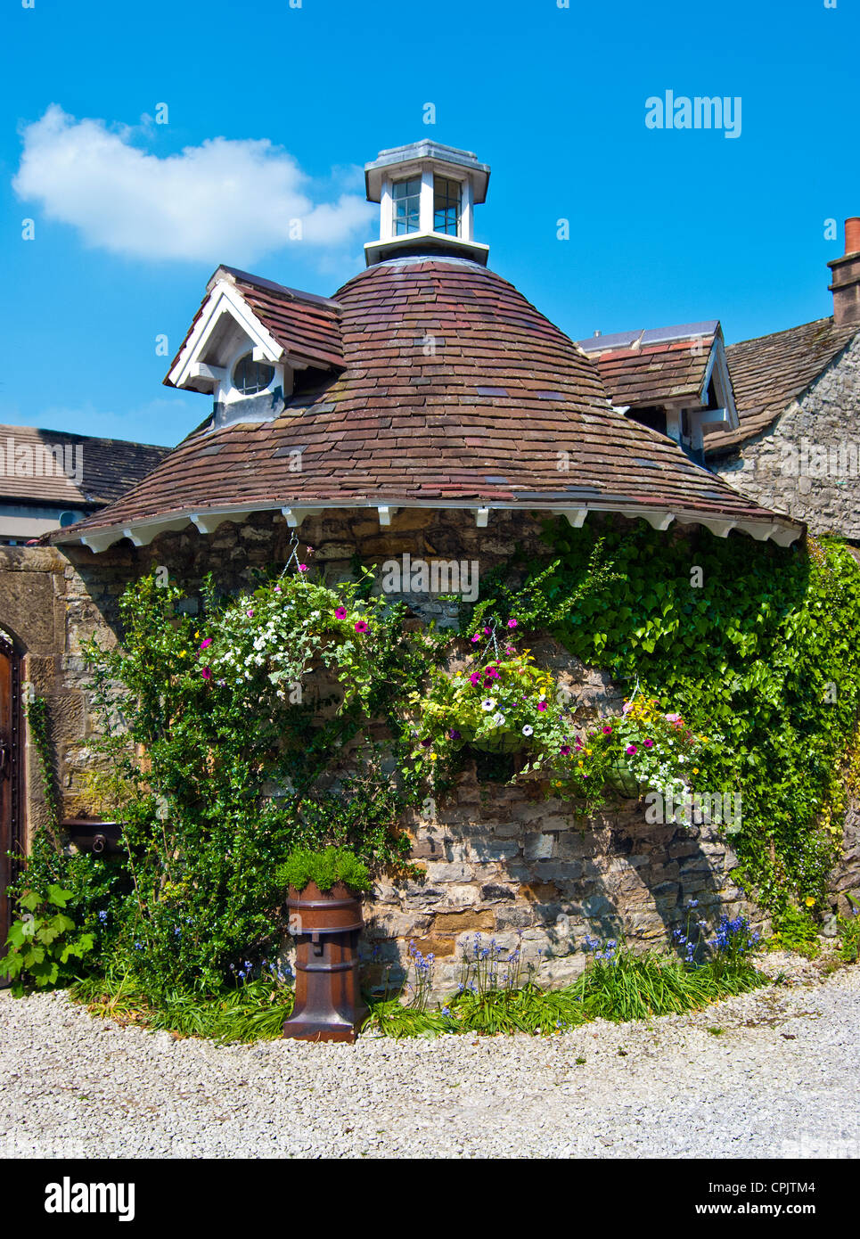 Old Dovecote, Riverside House Hotel, Ashford in the Water, Derbyshire Stock Photo