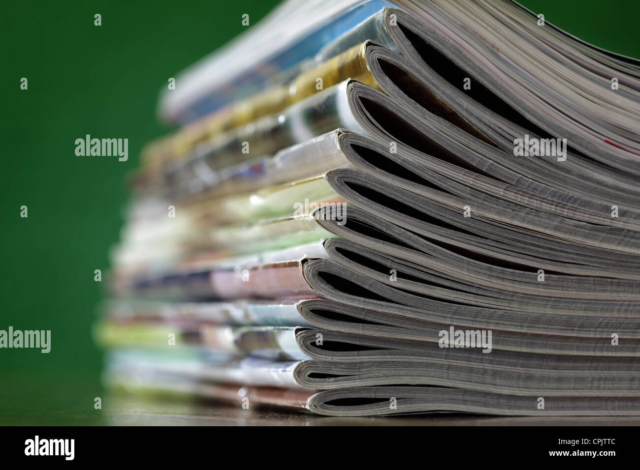 Magazines - Stock Image