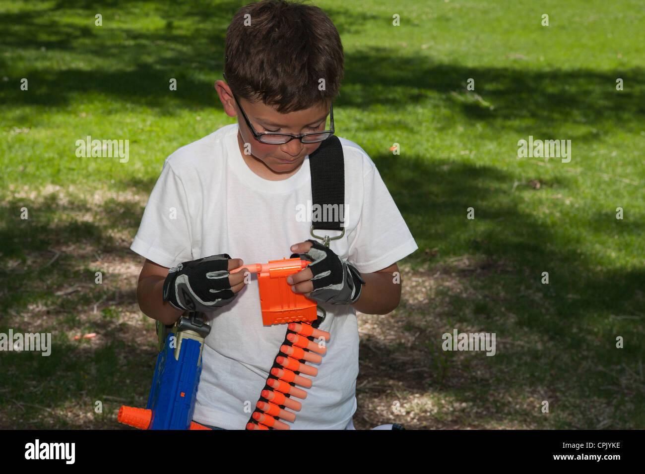 Nerf Gun Stock Photos Amp Nerf Gun Stock Images Alamy