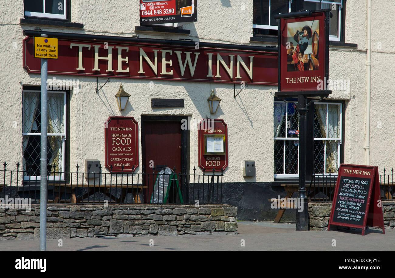 The New Inn on Highgate, Kendal, Cumbria, England UK - Stock Image