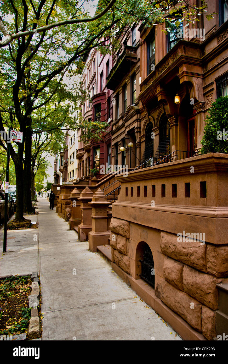 Brownstone apartments in New York City's Upper West Side ...