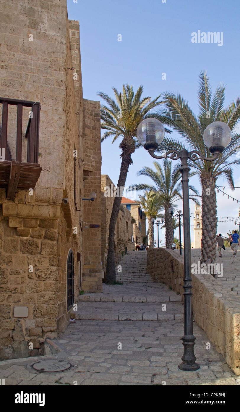 Old Jaffa street.Israel - Stock Image