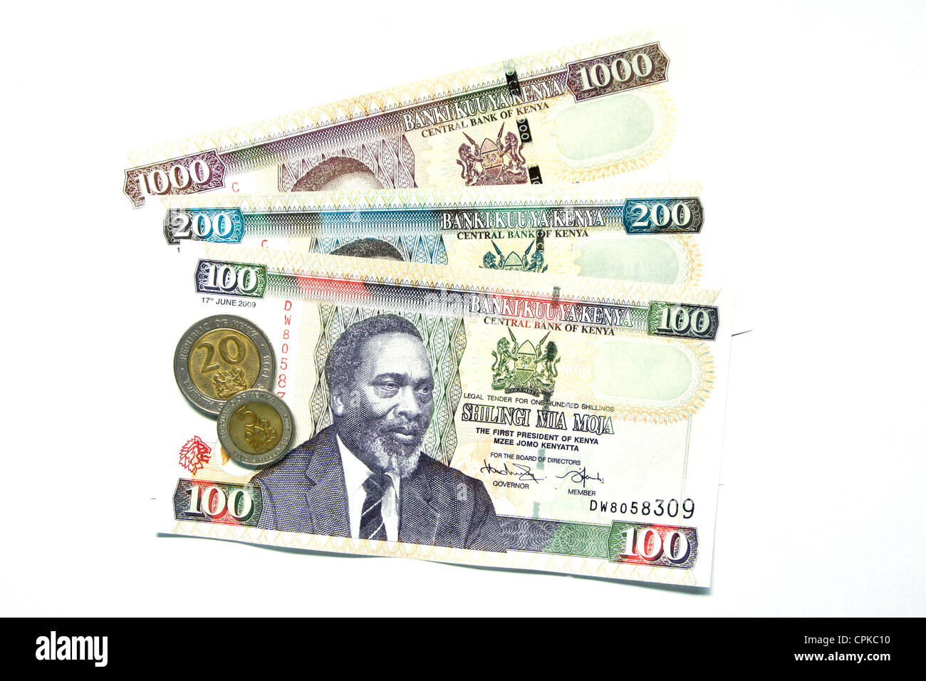 Kenya Shilling Stock Photos Kenya Shilling Stock Images Alamy