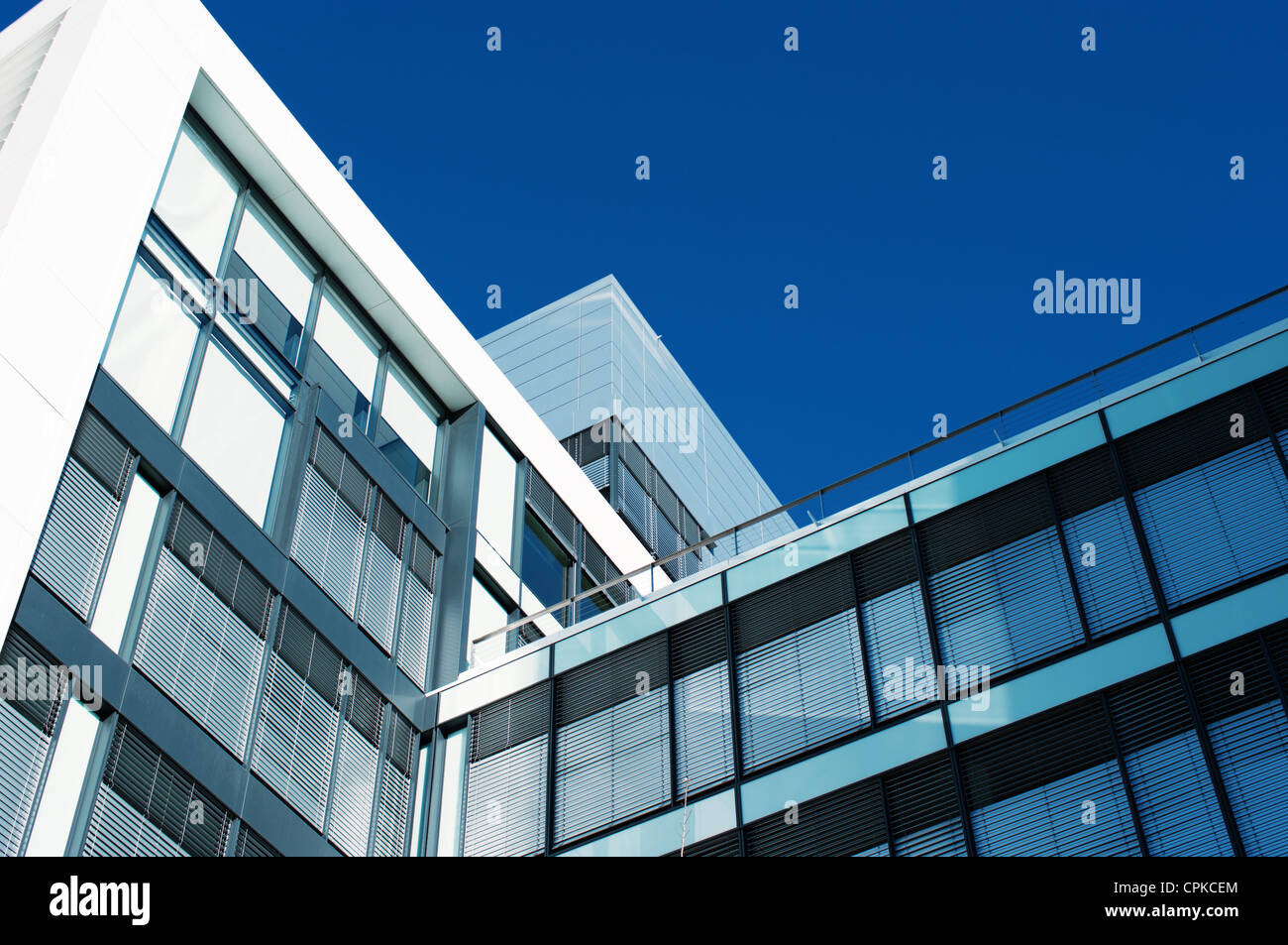 Modern office building - Stock Image