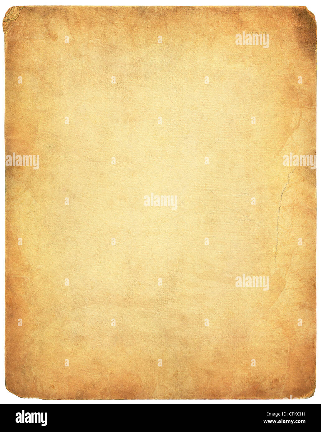 Old vintage paper background - Stock Image