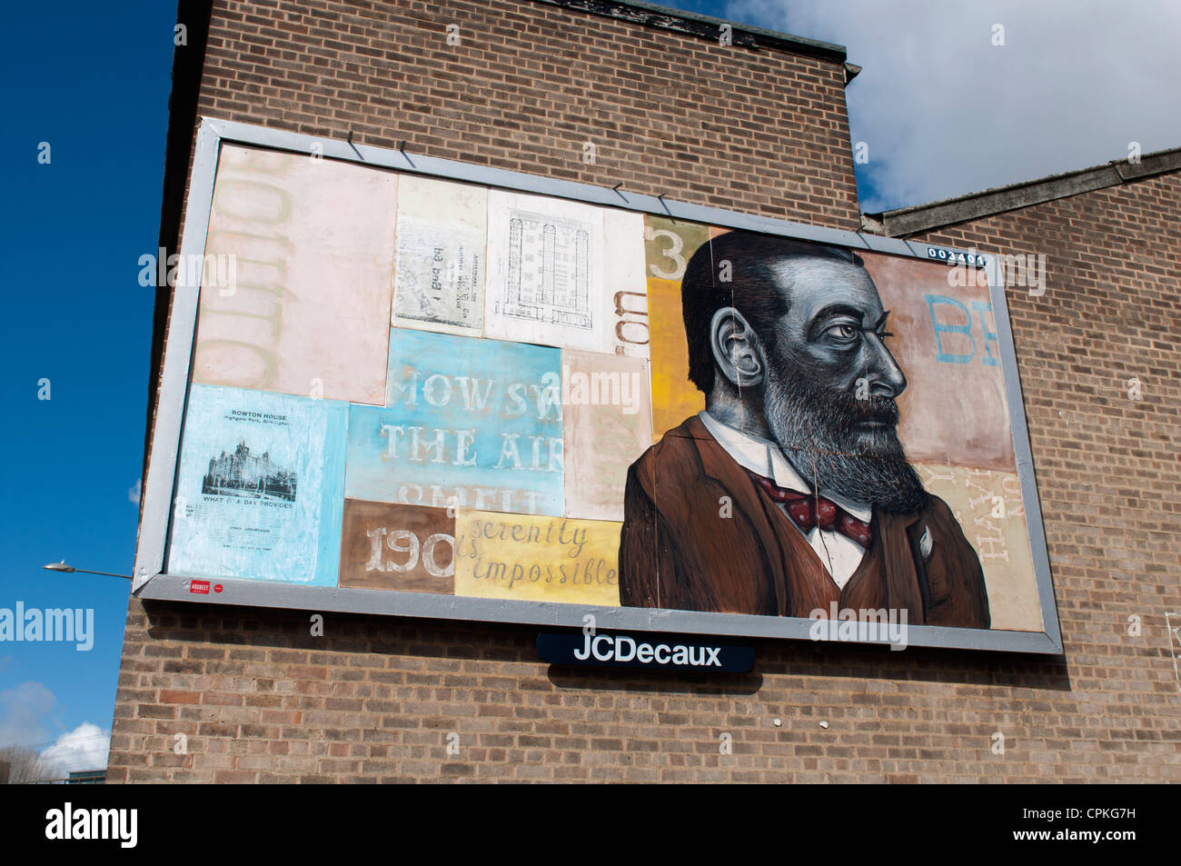 48 Sheet Billboard Project, Birmingham, UK - Stock Image