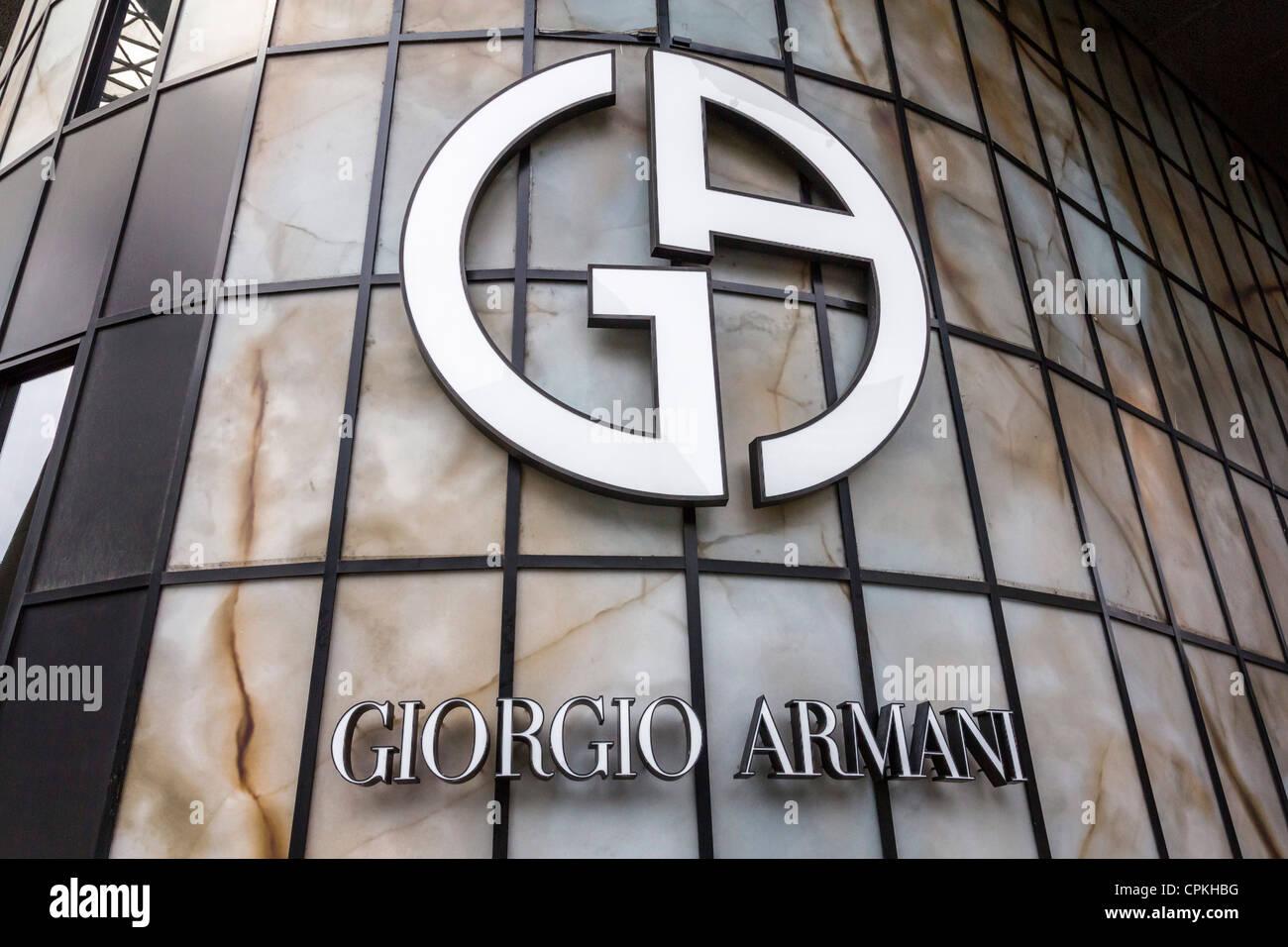 Giorgio Armani shop Orchard Road Singapore Stock Photo: 48373908 - Alamy
