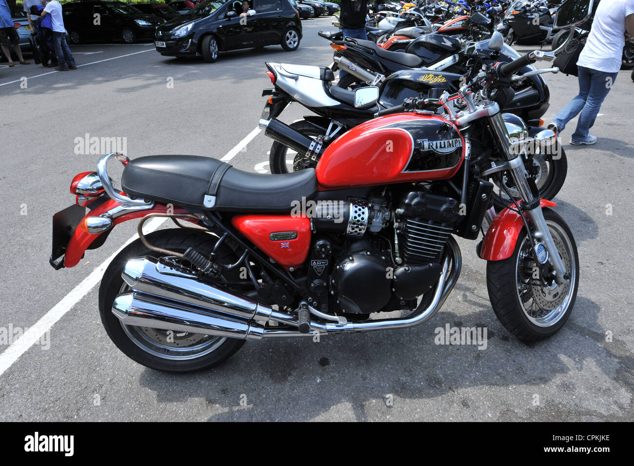 Triumph Thunderbird Sport Stock Photo 48374914 Alamy