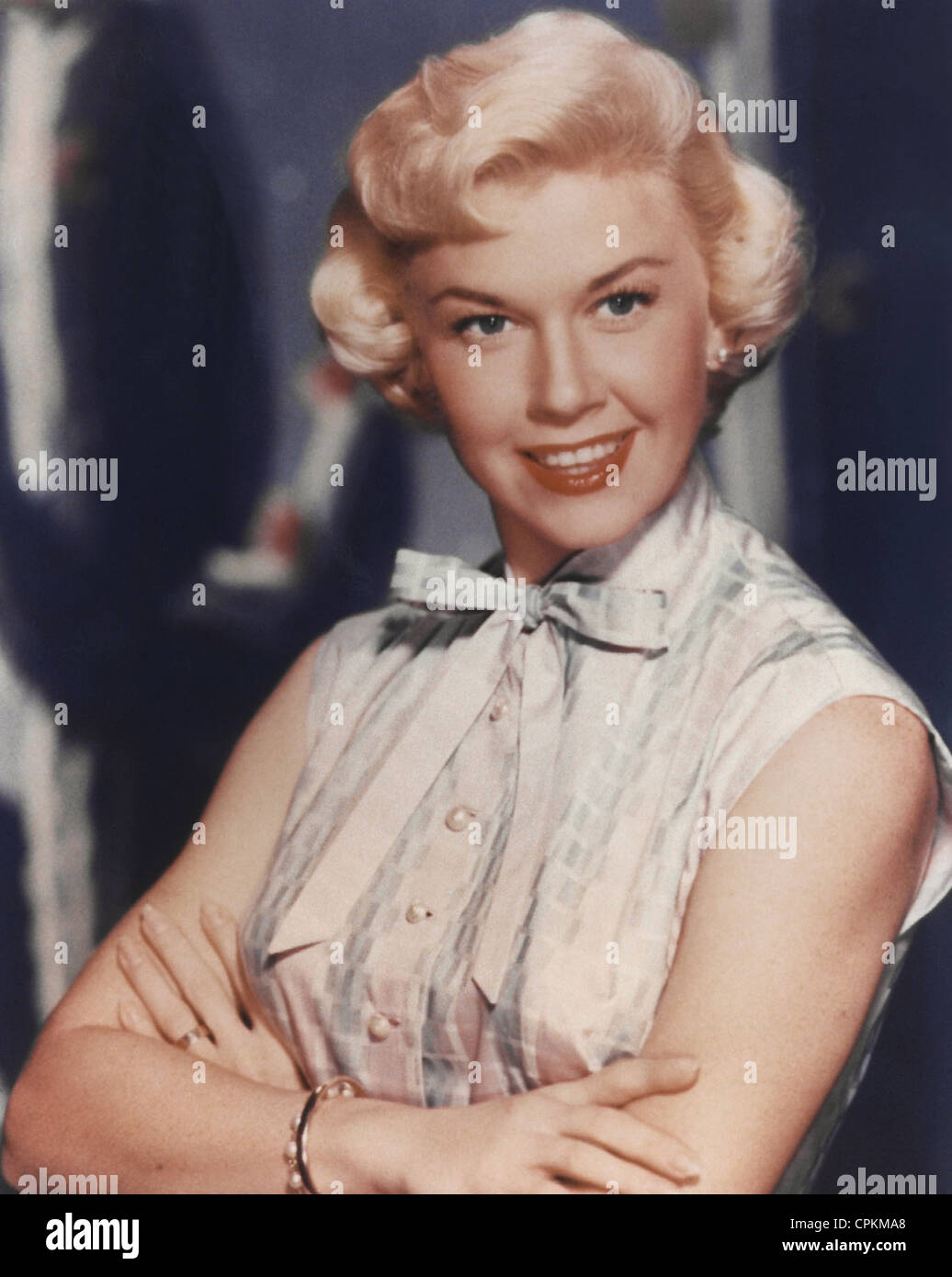 A color portrait of the film star doris day taken in los angeles in 1953