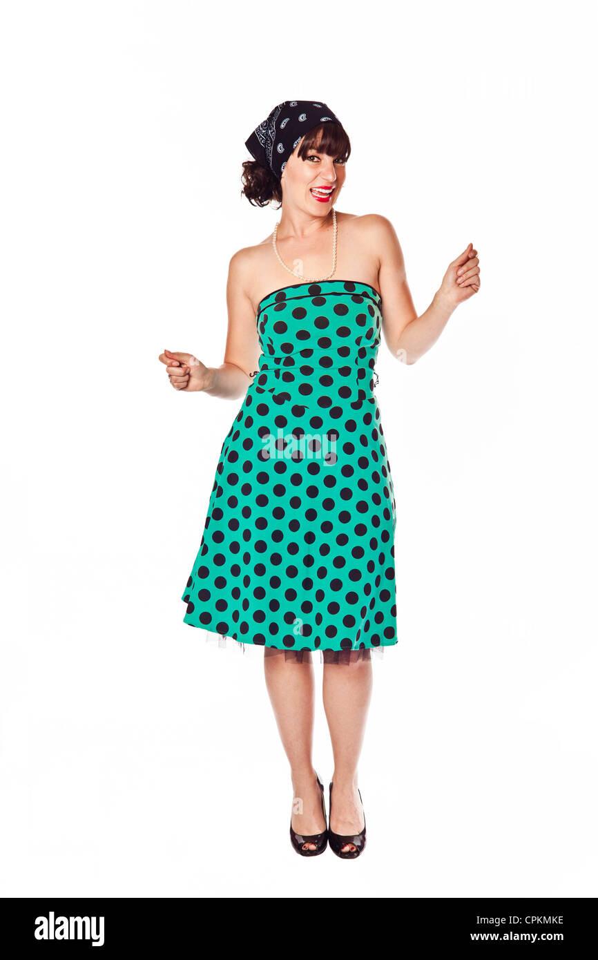 1950s Dress Stock Photos Amp 1950s Dress Stock Images Alamy