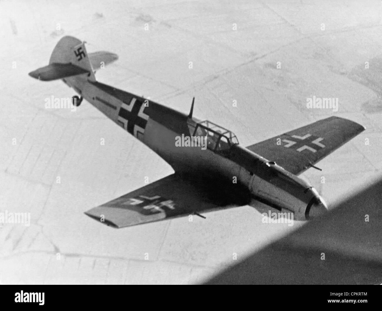 Messerschmitt Me 109 E, 1940 - Stock Image
