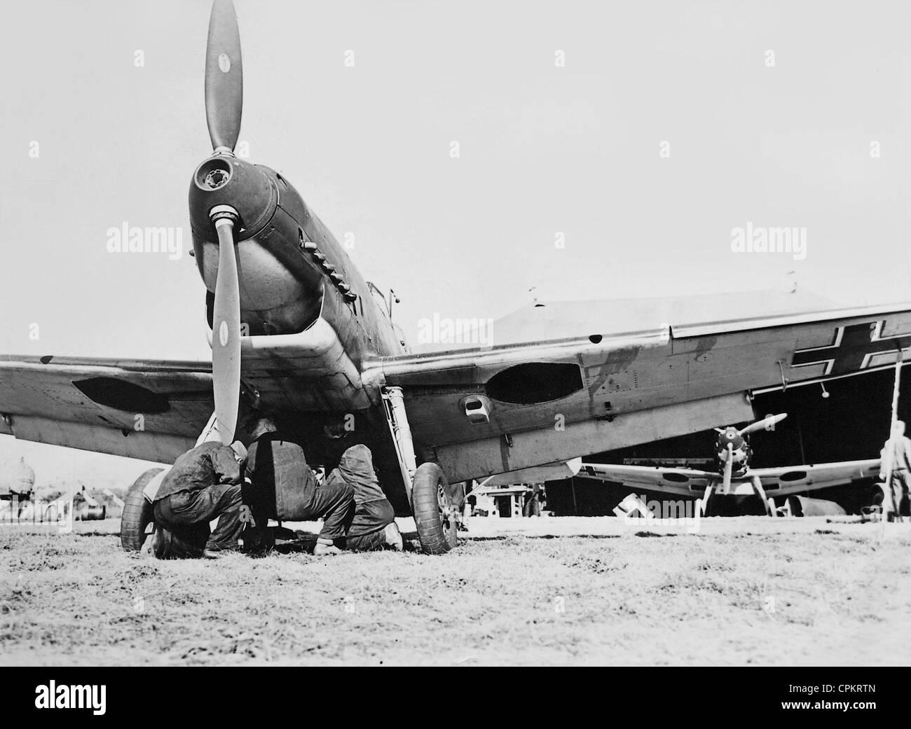 Messerschmitt Me 109 D, 1940 - Stock Image