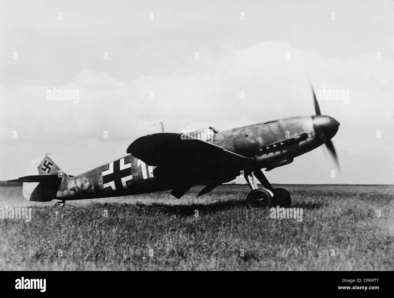 Messerschmitt Me 109, 1942 - Stock Image