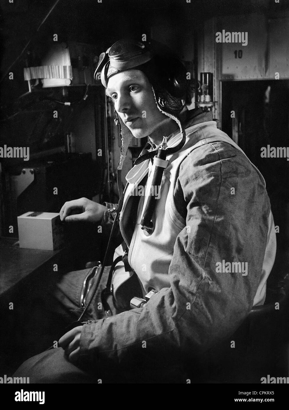 The gunner-radio operator with the IL-2, made 102 combat sorties