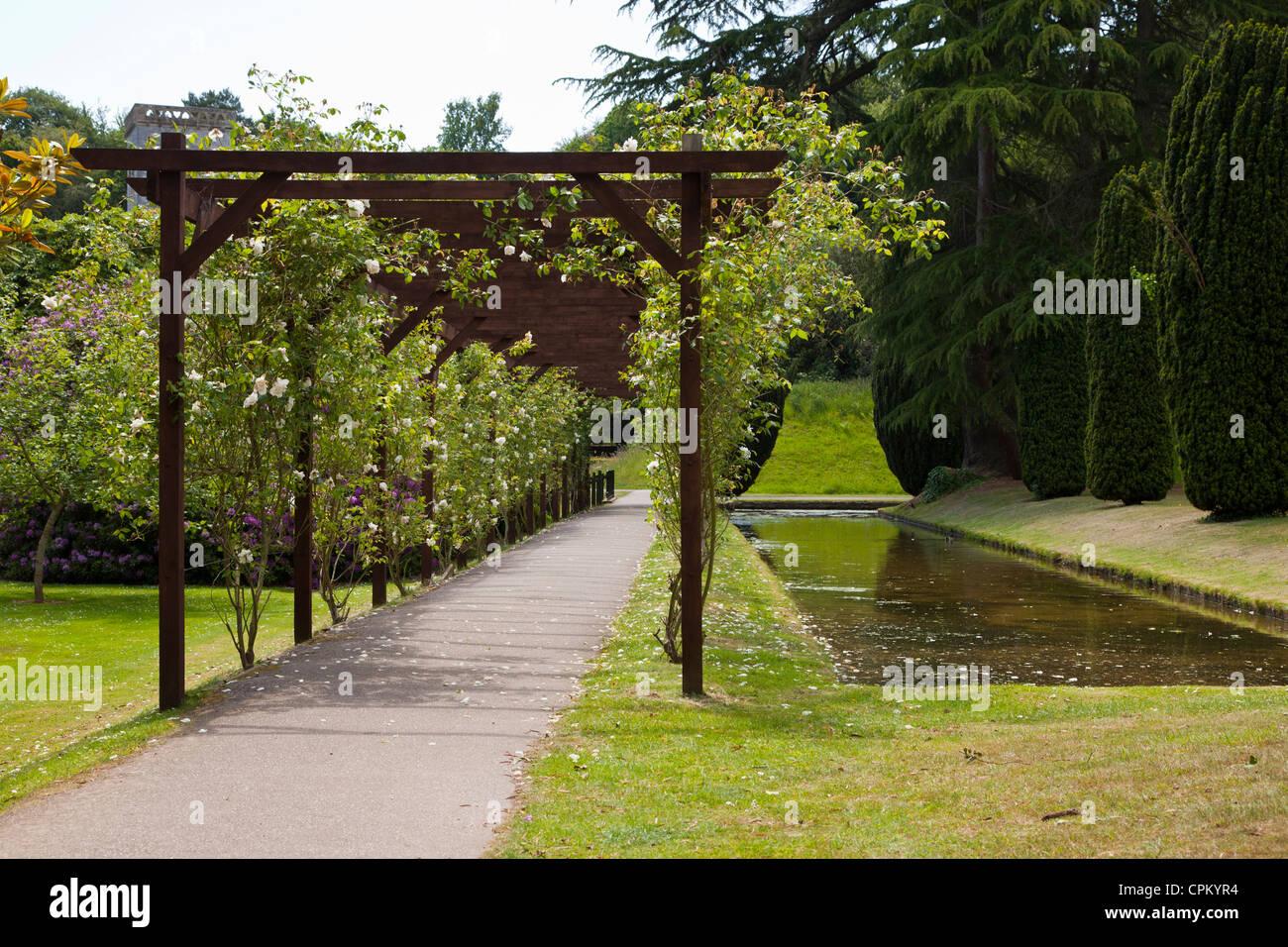 Bicton park botanical gardens, Exeter, south Devon, UK. - Stock Image